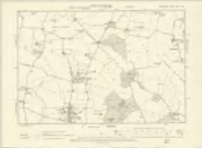 Berkshire XXVII.SW - OS Six-Inch Map