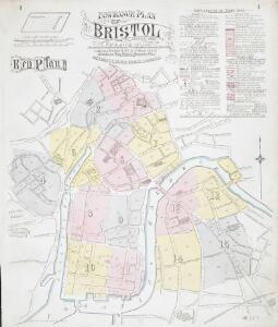 Insurance Plan of Bristol: Key Plan
