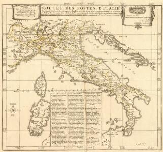 Routes Des Postes d'Italie