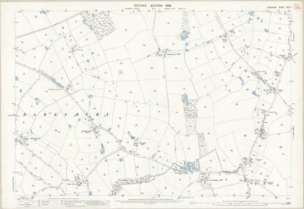 Cheshire XXV.7 (includes: Daresbury; Dutton; Hatton; Whitley) - 25 Inch Map