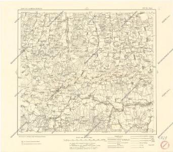 Karte des westlichen Russlands O17