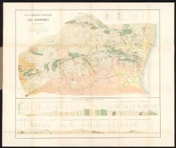Carta geologico-mineraria del Sarrabus (Isola di Sardegna)