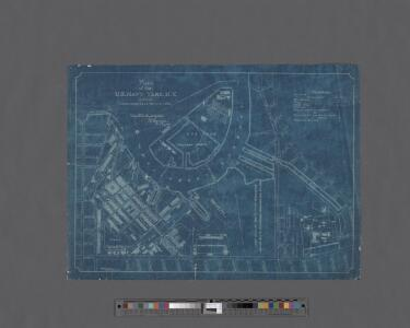 Plan of the U. S. Navy Yard, N. Y., showing improvements up to July 1, 1894.