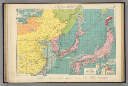 Chinese, Japanese ports.