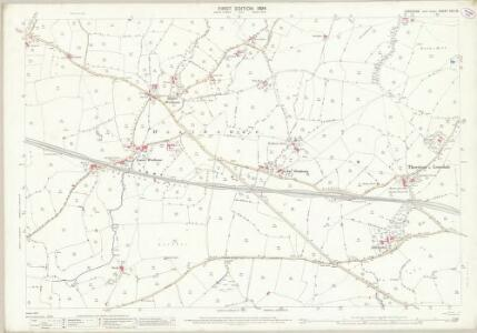 Yorkshire XCV.16 (includes: Burton In Lonsdale; Thornton In Lonsdale) - 25 Inch Map