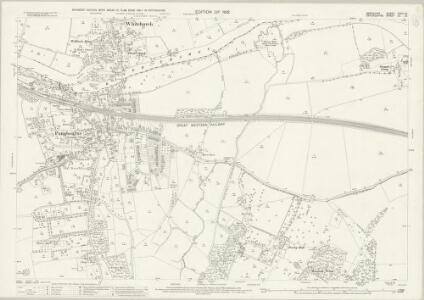 Berkshire XXVIII.12 (includes: Pangbourne; Purley; Saltney Mead; Sulham; Tidmarsh; Whitchurch) - 25 Inch Map