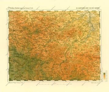 Podrobné mapy zemí Koruny české v měřítku 1:75.000 a mapa vzdáleností všech míst při silnici ležících. Volyně - Vimperk. Průvodce statisticko-historický po všech místech na těchto mapách uvedených a rejstřík věcný názvů hor, potoků, řek, rybníků atd. Sešit 31. List 34,