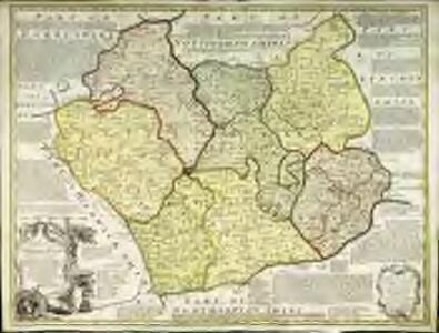 An accurate map of the counties of Leicester and Rutland