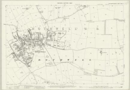 Northamptonshire XXIV.8 (includes: Rothwell; Rushton) - 25 Inch Map