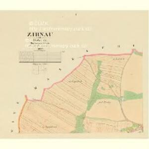 Zirnau - c1574-1-001 - Kaiserpflichtexemplar der Landkarten des stabilen Katasters