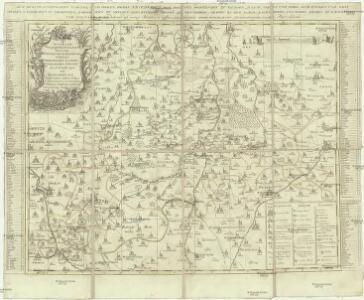 Accurate geographische Delineation derer zum Fürstenthum Altenburg gehörigen Herzoglichen Sachsen-Gothanischen AEmter Altenburg und Ronnenburg nebst vielen andern Orthen