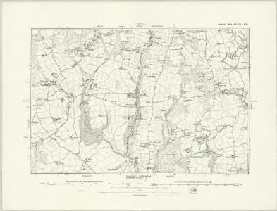 Cornwall LXXVI.NW - OS Six-Inch Map