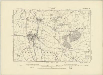 Dorset X.NW - OS Six-Inch Map