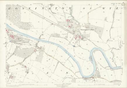 Herefordshire XXXII.6 (includes: Byford; Moccas; Monnington On Wye; Preston On Wye) - 25 Inch Map