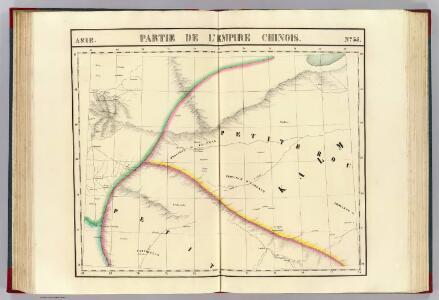 Partie, l'Empire Chinois. Asie 55.