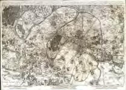 A plan of Paris [et]c