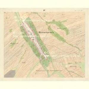 Horniemtsch - m0805-1-004 - Kaiserpflichtexemplar der Landkarten des stabilen Katasters