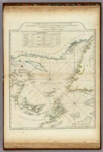A Chart Of The Gulf Of St. Laurence.