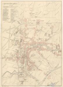 Plan der Stadt Laibach