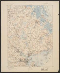 Salem quadrangle, Massachusetts