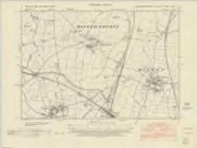 Northamptonshire LI.NE - OS Six-Inch Map