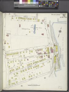 Staten Island, V. 1, Plate No. 32 [Map bounded by Harrison, Brownel, Upper New York Bay, Simonson Ave., Tompkins Ave.]
