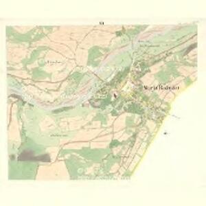 Rožnau (Rožnow) - m2628-1-011 - Kaiserpflichtexemplar der Landkarten des stabilen Katasters