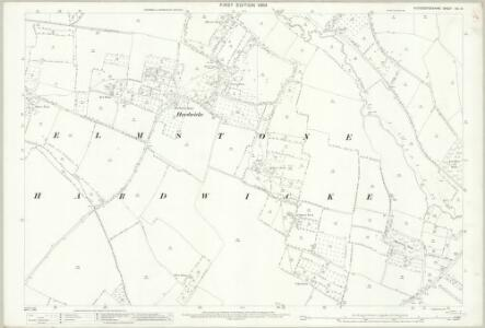 Gloucestershire XIX.10 (includes: Elmstone Hardwicke; Stoke Orchard; Uckington) - 25 Inch Map