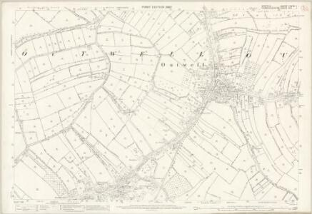 Norfolk LXVIII.1 (includes: Elm; Outwell; Upwell) - 25 Inch Map