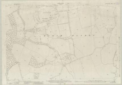 Oxfordshire XLVI.1 (includes: Marsh Baldon; Stadhampton; Toot Baldon) - 25 Inch Map