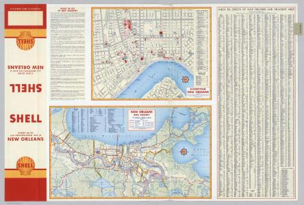 Downtown New Orleans.  New Orleans and Vicinity.