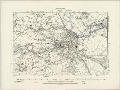 Devonshire CIII.NE & CIIIa.NW - OS Six-Inch Map