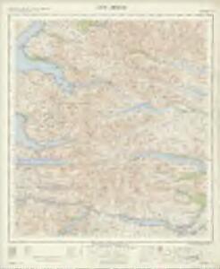 Loch Arkaig - OS One-Inch Map