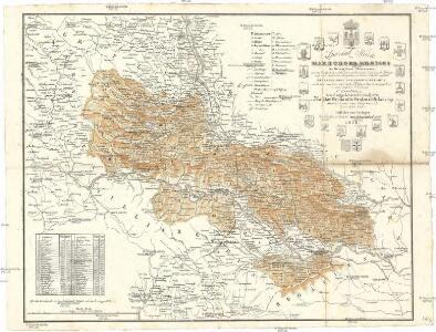 Spezial Karte des Marburger Kreises im Herzogthum Steyermark