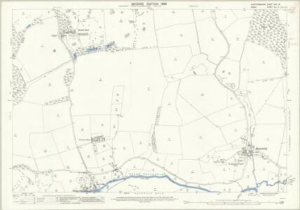 Hertfordshire XXX.15 (includes: Eastwick; Gilston; Hunsdon) - 25 Inch Map