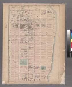 Sheet 14: [Bounded by E. Ninety Second Street, Avenue A, E. Nintieth Street, Avenue B, E. Seventy Second Street, Avenue A, [E. Fifty Ninth Street] and 5th Avenue.]