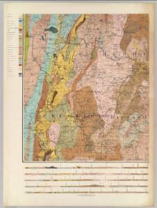 (General geological map of New Hampshire. Sheet 5)