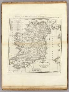 Map Of Ireland.