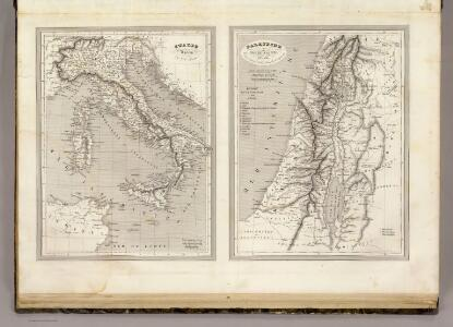 Italie Ancienne, Palestine ou Terre Sainte Ancienne.