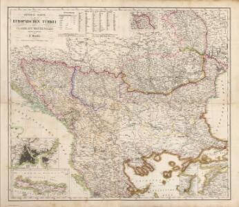 Composite: Europaischen Turkei.