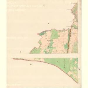 Alt Hrosenkau (Stary Hrasenkow) - m2868-1-004 - Kaiserpflichtexemplar der Landkarten des stabilen Katasters