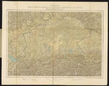 R. Leuzinger's Relief-Karte von Mittel & Südbayern, Nordtyrol, Salzburg, nebst den angrenzenden Gebieten