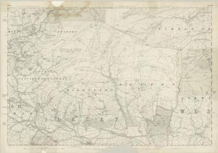 Yorkshire 169 - OS Six-Inch Map