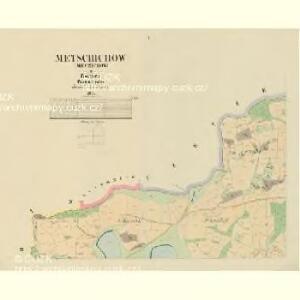 Metschichow (Meczichow) - c4542-1-001 - Kaiserpflichtexemplar der Landkarten des stabilen Katasters