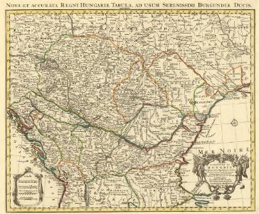 Nova et Accurata Regni Hungariae Tabula, ad Usum Serenissimi Burgundiae Ducis