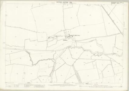 Oxfordshire XXXVIII.9 (includes: Aston Bampton; Hinton Waldrist; Longworth; Shifford; Standlake) - 25 Inch Map