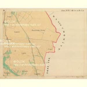 Doeschen - m0425-1-005 - Kaiserpflichtexemplar der Landkarten des stabilen Katasters