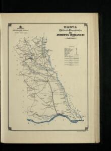 Harta Cailor de Comunicatie din Judetul Romanati