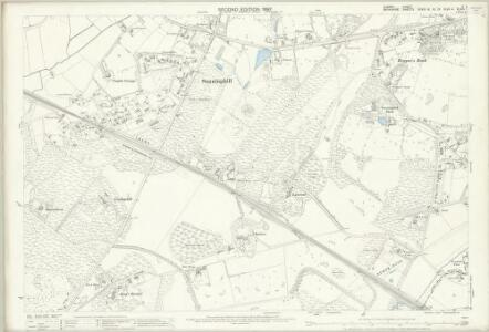 Surrey X.2 (includes: Sunningdale; Sunninghill) - 25 Inch Map