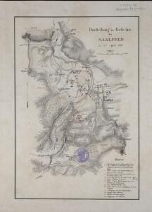 Darstellung des Gefechts bei Saalfeld den 2ten April 1761